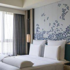 Отель Pullman Taiyuan 4* Улучшенный номер с различными типами кроватей фото 2