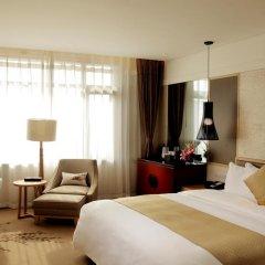 Отель Holiday Inn Resort Beijing Yanqing 4* Улучшенный номер с двуспальной кроватью фото 4