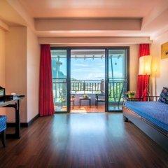 Отель Krabi Cha-da Resort 4* Стандартный номер с различными типами кроватей фото 9
