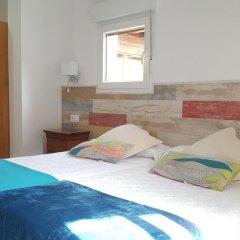 Отель Hostal Restaurante Nevandi Стандартный номер с различными типами кроватей фото 12