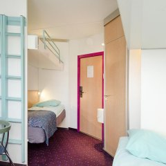CABINN Odense Hotel 2* Стандартный семейный номер с различными типами кроватей фото 2