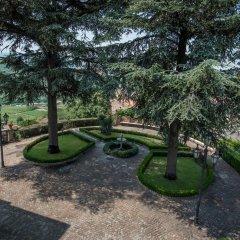 Отель Castello Di Mornico Losana Морнико-Лозана развлечения