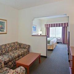 Отель Holiday Inn Express & Suites Ashland 2* Стандартный номер с различными типами кроватей фото 5