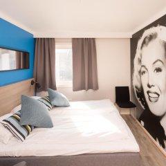 Отель Fjordgaarden Mo 3* Стандартный номер с различными типами кроватей фото 4