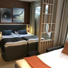Airport Hotel Pilotti 3* Стандартный номер с различными типами кроватей фото 4
