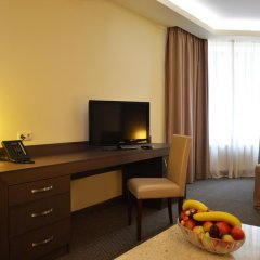 Отель Aviatrans 4* Номер Делюкс с двуспальной кроватью фото 11