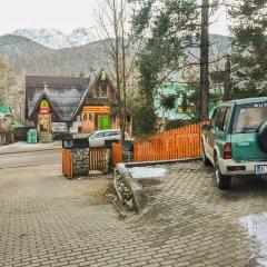 Отель Base Camp Zakopane Закопане парковка
