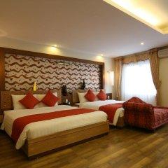 Hanoi Elegance Ruby Hotel 3* Люкс с различными типами кроватей фото 12