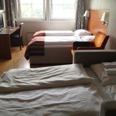 Marché Rygge Vest Airport Hotel 3* Стандартный семейный номер с двуспальной кроватью фото 11
