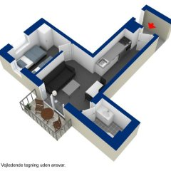 Отель ApartHotel Faber 3* Апартаменты разные типы кроватей фото 3