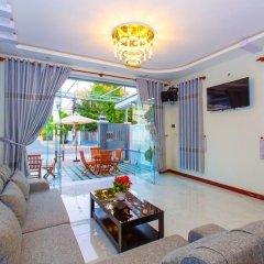 Отель MiMi Ho Guesthouse Номер Делюкс с различными типами кроватей фото 2