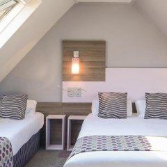 Comfort Hotel Nation Pere Lachaise Paris 11 3* Стандартный номер с различными типами кроватей фото 3