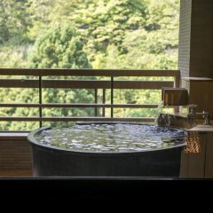 Отель Takamiya Bettei KUON Цуруока балкон