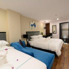 Hanoi Emerald Waters Hotel & Spa 4* Семейный номер Делюкс с двуспальной кроватью фото 8