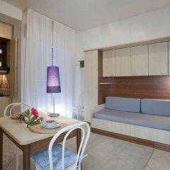Отель Residence Blu Mediterraneo 2* Апартаменты с различными типами кроватей фото 6