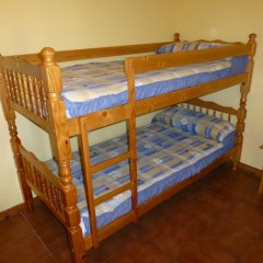 Отель Albergue Turistico Briz Кровать в общем номере с двухъярусной кроватью фото 2