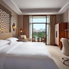Отель Sheraton Qingyuan Lion Lake Resort 4* Стандартный номер с различными типами кроватей фото 4
