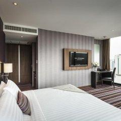 Отель The Continent Bangkok by Compass Hospitality 4* Номер категории Премиум с различными типами кроватей фото 18
