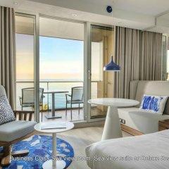 Radisson Blu Hotel, Nice 4* Люкс с различными типами кроватей фото 8