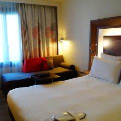 Отель Novotel Paris Les Halles 4* Улучшенный номер с различными типами кроватей фото 2