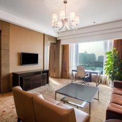 Отель Crowne Plaza Nanjing Jiangning 4* Улучшенный номер с различными типами кроватей фото 5