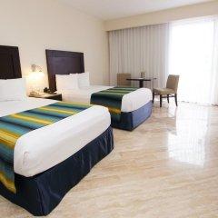 Отель Crown Paradise Club Cancun - Все включено Мексика, Канкун - 10 отзывов об отеле, цены и фото номеров - забронировать отель Crown Paradise Club Cancun - Все включено онлайн комната для гостей фото 6