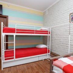 Хостел Кукуруза Стандартный семейный номер с разными типами кроватей (общая ванная комната) фото 4