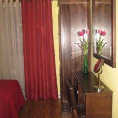 Отель Residencial Faria Guimarães Номер Эконом разные типы кроватей фото 10