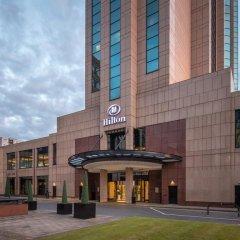 Отель Hilton Glasgow вид на фасад