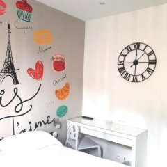 Отель Le Glam's Hôtel 3* Стандартный номер с различными типами кроватей фото 9