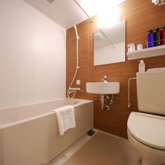 Отель Sotetsu Fresa Inn Tokyo-Kyobashi 3* Стандартный номер с различными типами кроватей фото 2