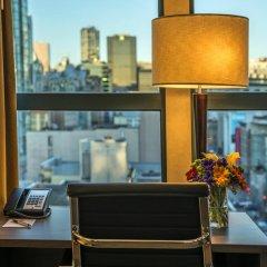 Отель GEC Granville Suites Downtown 3* Стандартный номер с различными типами кроватей фото 4