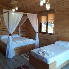 Отель Cirali Flora Pension 3* Стандартный семейный номер с двуспальной кроватью фото 25