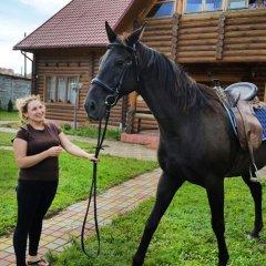 Гостиница Guest house u Okhotnika с домашними животными