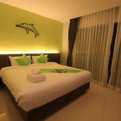 Отель Di Pantai Boutique Beach Resort 4* Стандартный номер с разными типами кроватей фото 8
