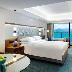 JW Marriott Hotel Sanya Dadonghai Bay 5* Представительский номер с различными типами кроватей фото 5