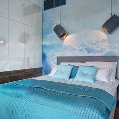 Отель Apartamenty Sky Tower Улучшенные апартаменты с различными типами кроватей фото 15
