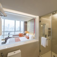Pathumwan Princess Hotel 5* Номер категории Премиум с различными типами кроватей фото 8