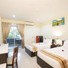 Santiphap Hotel & Villa 3* Стандартный номер с 2 отдельными кроватями фото 5