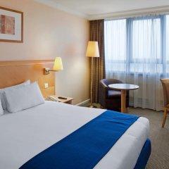 Отель Holiday Inn London Kensington Forum 4* Стандартный номер с двуспальной кроватью фото 4