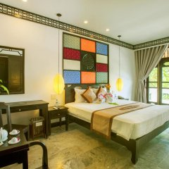 Отель Hoi An Coco River Resort & Spa 4* Номер Делюкс с различными типами кроватей фото 6