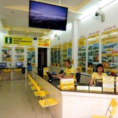 Yellow Hotel Нячанг интерьер отеля