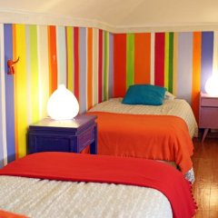 Отель Chill in Ericeira Surf House Кровать в общем номере с двухъярусной кроватью фото 6