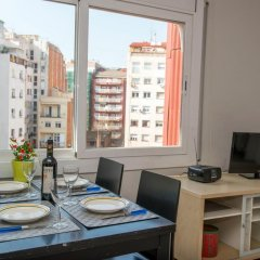 Отель Sunny and Quiet Sagrada Familia Барселона в номере