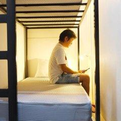 myPatong GuestHouse-Hostel 3* Кровать в общем номере с двухъярусной кроватью фото 8