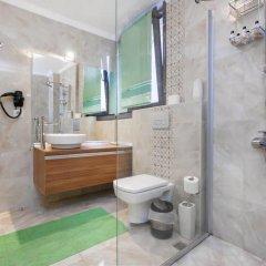 Отель Defne Suites Улучшенные апартаменты с различными типами кроватей фото 8