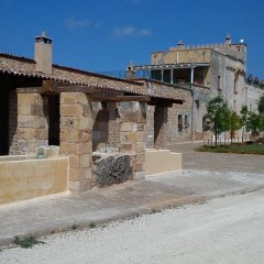 Отель Masseria Alcaini Лечче парковка