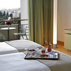 Отель Hilton Athens 5* Стандартный номер разные типы кроватей фото 23