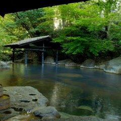 Отель Sanga Ryokan Минамиогуни приотельная территория