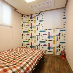 Отель Cube Guesthouse Стандартный номер с двуспальной кроватью фото 2